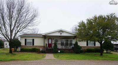 Iowa Park Single Family Home For Sale: 13076 Blaker Road