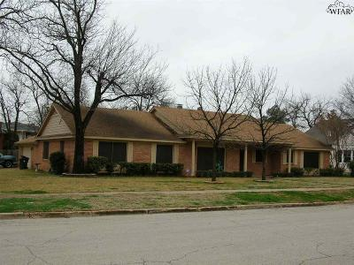Wichita Falls Single Family Home For Sale: 1401 Tilden Street