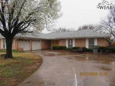 Wichita Falls Single Family Home For Sale: 2 Fawnwood Court