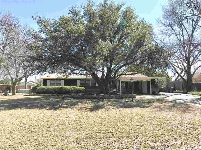 Archer County, Baylor County, Clay County, Jack County, Throckmorton County, Wichita County, Wise County Single Family Home For Sale: 3709 Kessler Boulevard