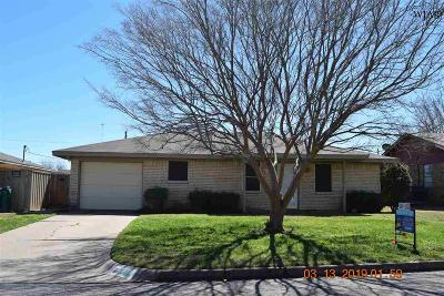 Archer County, Baylor County, Clay County, Jack County, Throckmorton County, Wichita County, Wise County Single Family Home For Sale: 1303 Mockingbird Street