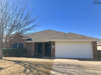 Archer County, Baylor County, Clay County, Jack County, Throckmorton County, Wichita County, Wise County Single Family Home For Sale: 6017 Van Dorn Drive
