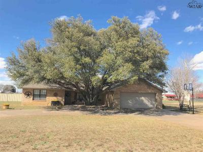 Wilbarger County Single Family Home For Sale: 4408 Tanglewood Drive
