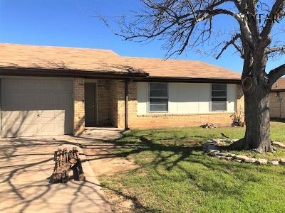 Wichita Falls Single Family Home For Sale: 2314 Tinker Trail