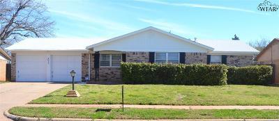 Wichita Falls Single Family Home For Sale: 4035 Hooper Drive