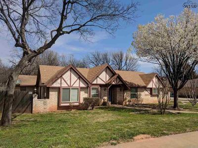 Wichita Falls TX Single Family Home For Sale: $199,900