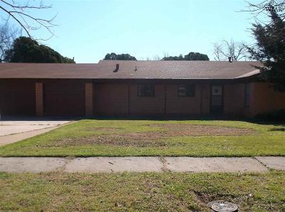 Wichita Falls Single Family Home For Sale: 1515 Buchanan Street