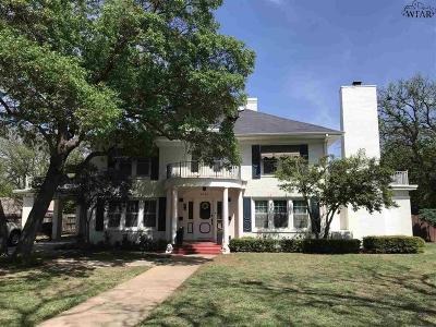 Archer County, Baylor County, Clay County, Jack County, Throckmorton County, Wichita County, Wise County Single Family Home For Sale: 2111 Indian Heights Boulevard