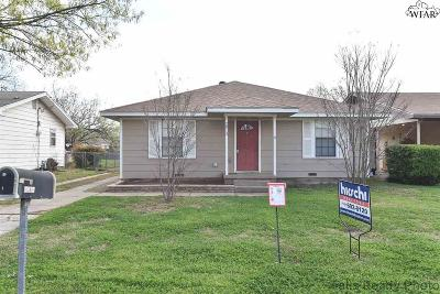 Wichita Falls TX Single Family Home For Sale: $85,000