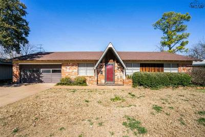 Archer County, Baylor County, Clay County, Jack County, Throckmorton County, Wichita County, Wise County Single Family Home Active W/Option Contract: 4511 Melody Lane