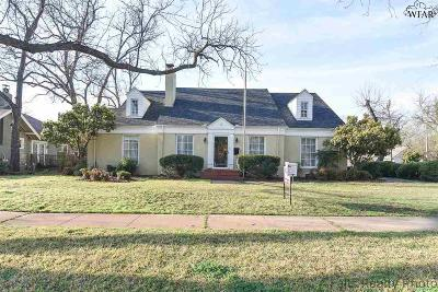 Wichita County Single Family Home For Sale: 1809 Speedway Avenue