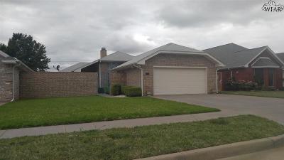 Wichita Falls Single Family Home For Sale: 3702 Alexandria Street