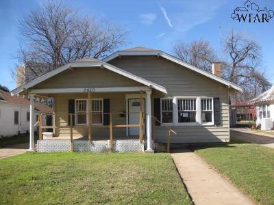 Wichita Falls Single Family Home For Sale: 2010 Arthur Street