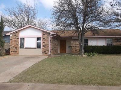 Wichita Falls Single Family Home For Sale: 2716 Tampico Drive