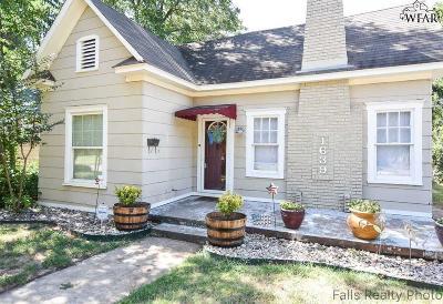 Wichita Falls Single Family Home For Sale: 1639 Dayton Avenue