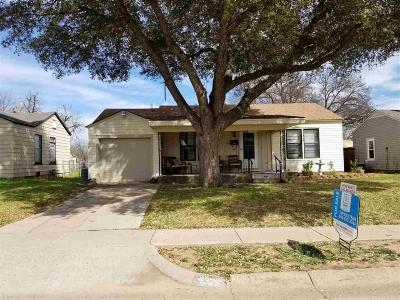 Wichita Falls TX Single Family Home For Sale: $64,900