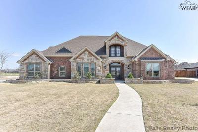 Wichita Falls Single Family Home For Sale: 5401 Stone Lake