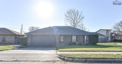 Wichita Falls TX Single Family Home For Sale: $118,900