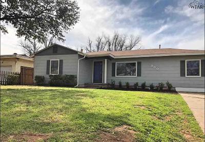 Wichita Falls Single Family Home For Sale: 300 Bluebonnet Drive