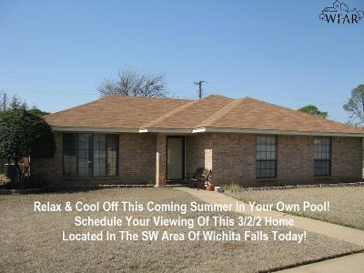 Wichita Falls Single Family Home For Sale: 4600 Sabota Avenue