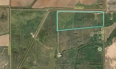 Iowa Park Residential Lots & Land For Sale: Appox 6.5 Acres Hacker Road