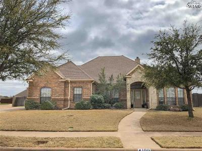 Single Family Home Active W/Option Contract: 4100 Candlewood Circle