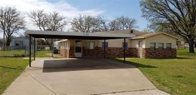 Burkburnett Single Family Home For Sale: 616 E 6th Street