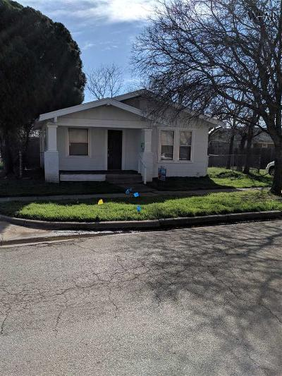 Wichita County Rental For Rent: 2307 Avenue H