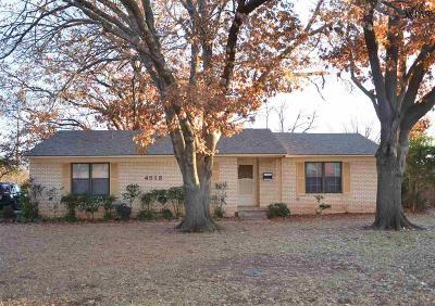 Wichita County Rental For Rent: 4513 Wynnwood Drive