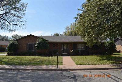 Wichita Falls Single Family Home For Sale: 4507 Ridgemont Drive