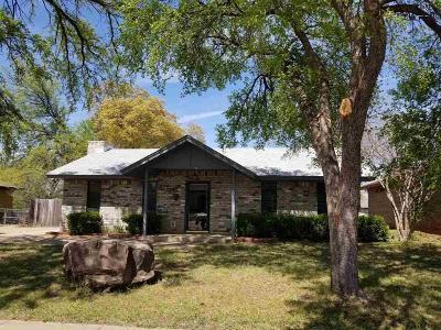 Wichita County Rental For Rent: 1220 Montgomery Street
