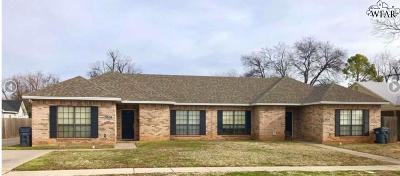 Wichita County Rental For Rent: 1808 Woodrow Avenue