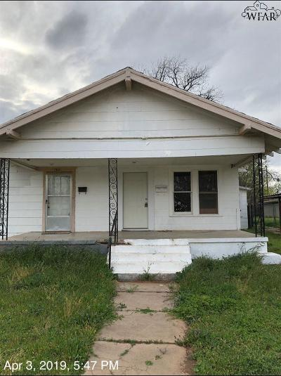 Wichita County Rental For Rent: 1510 Fillmore Street