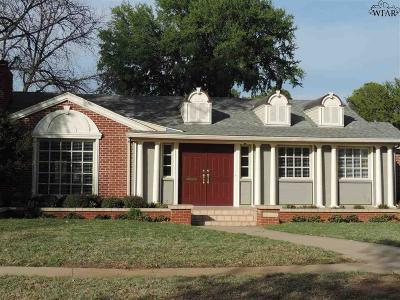 Wichita Falls Single Family Home For Sale: 2400 Roselawn Avenue
