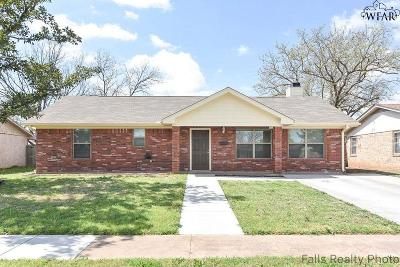 Wichita Falls Single Family Home For Sale: 4720 Cape Cod Drive