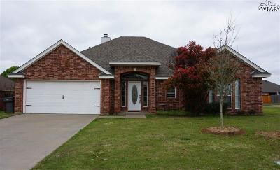 Wichita County Rental For Rent: 5400 Blazing Star Lane