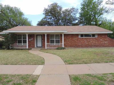 Wichita County Rental For Rent: 4803 Pawnee Pathway