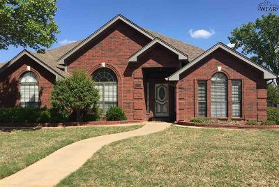 Wichita Falls Single Family Home For Sale: 3115 Lombard Drive