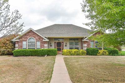 Wichita County Single Family Home Active W/Option Contract: 684 Burnett Ranch Road