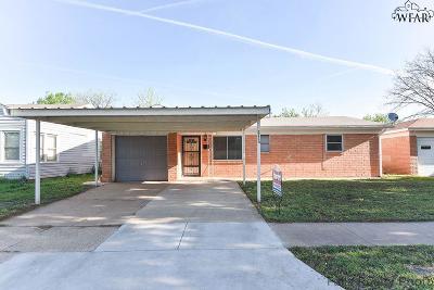 Wichita Falls Single Family Home For Sale: 3114 Avenue R