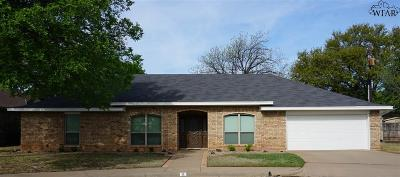 Wichita Falls Single Family Home For Sale: 8 Rob Roy Lane