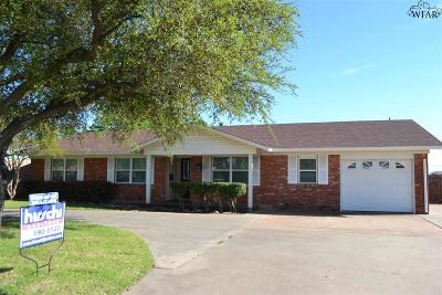 Wichita Falls Single Family Home Active-Contingency: 1717 Southwest Parkway