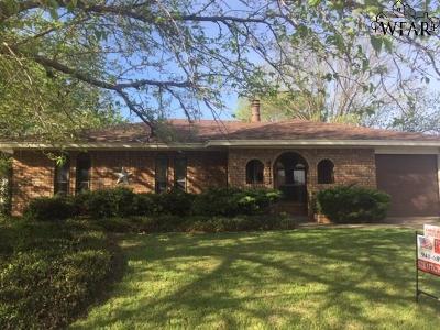 Wichita Falls Single Family Home For Sale: 4712 Cape Cod Drive