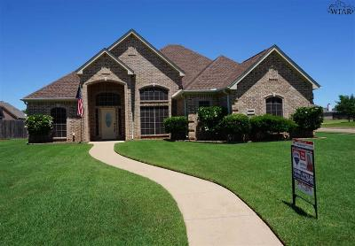 Wichita Falls Single Family Home For Sale: 1 Sage Brush