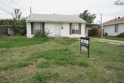 Wichita County Rental For Rent: 4354 Cunningham Drive