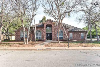 Wichita Falls Single Family Home For Sale: 4418 Shady Lane