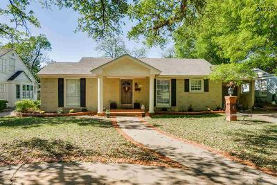 Wichita Falls Single Family Home For Sale: 2407 Dartmouth Street