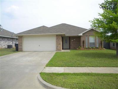 Wichita County Rental For Rent: 5413 Flo Drive