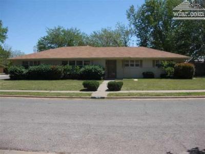Wichita Falls Single Family Home For Sale: 3513 Kent Lane