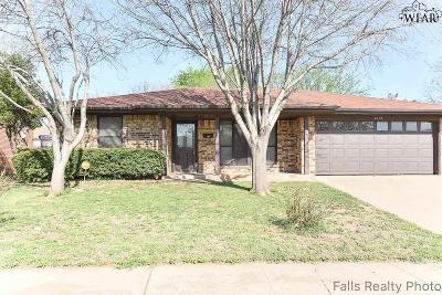 Wichita Falls TX Single Family Home Active W/Option Contract: $99,900